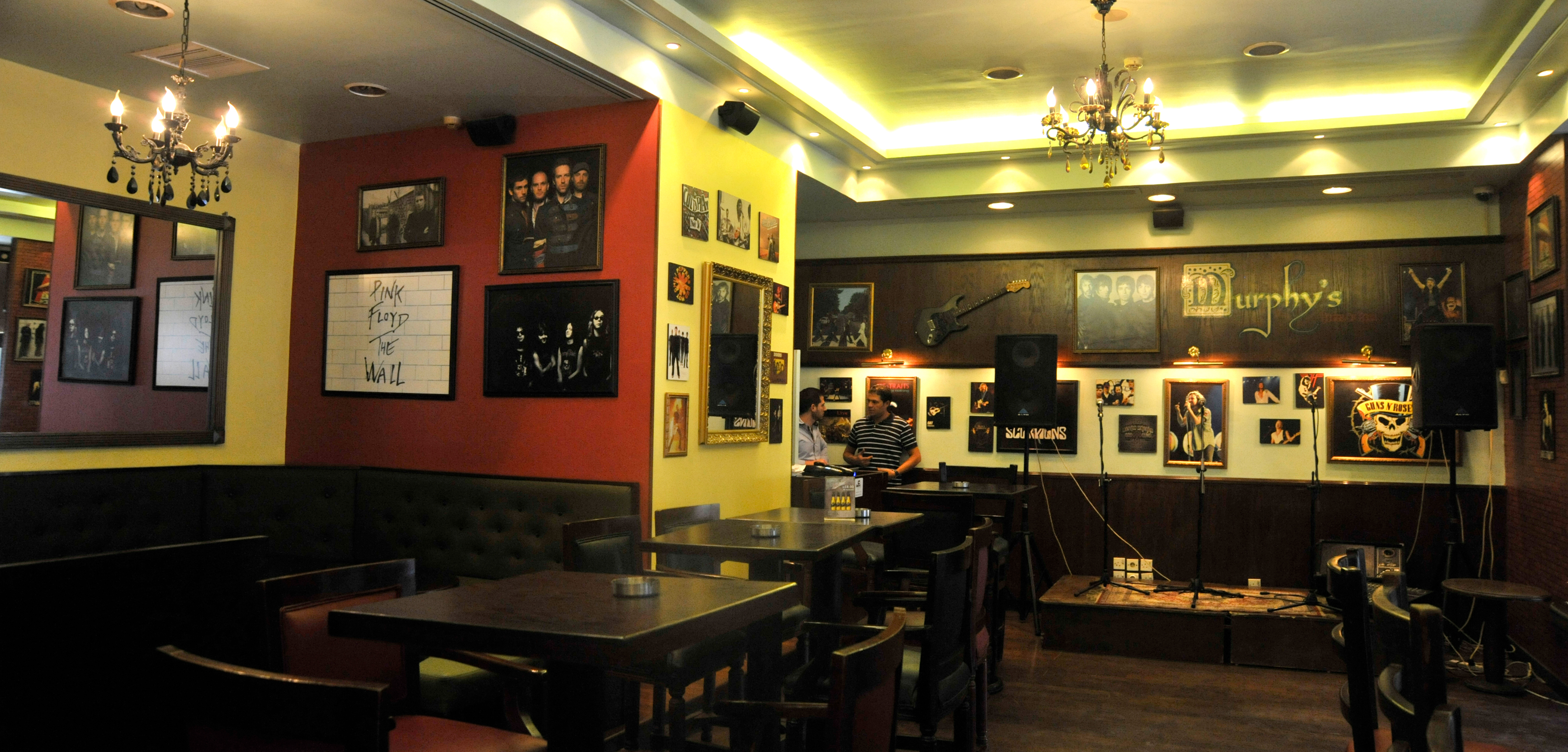 murphy's house of ruck pub at the conroy boutique hotel amman jordan