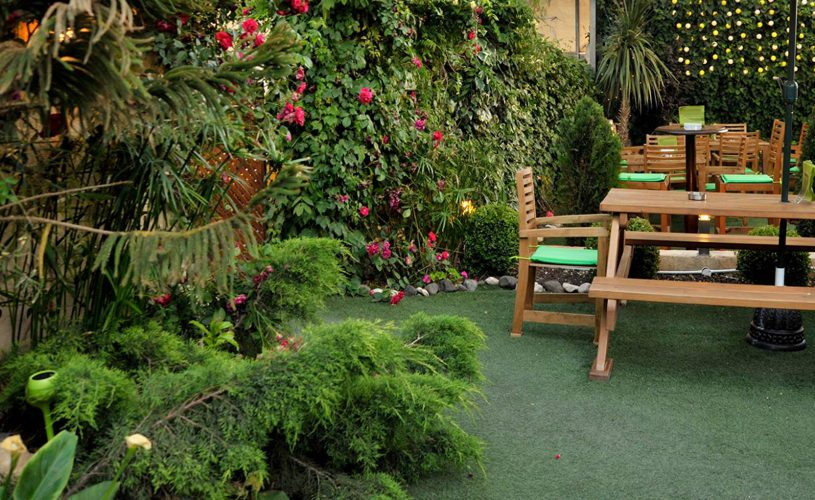 murphy's garden at the conroy boutique hotel amman jordan