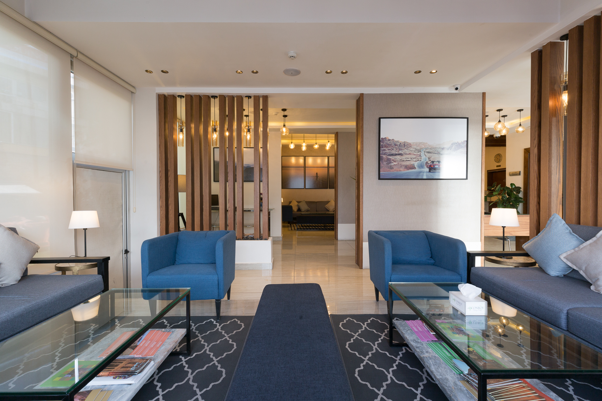 conroy hotel lobby