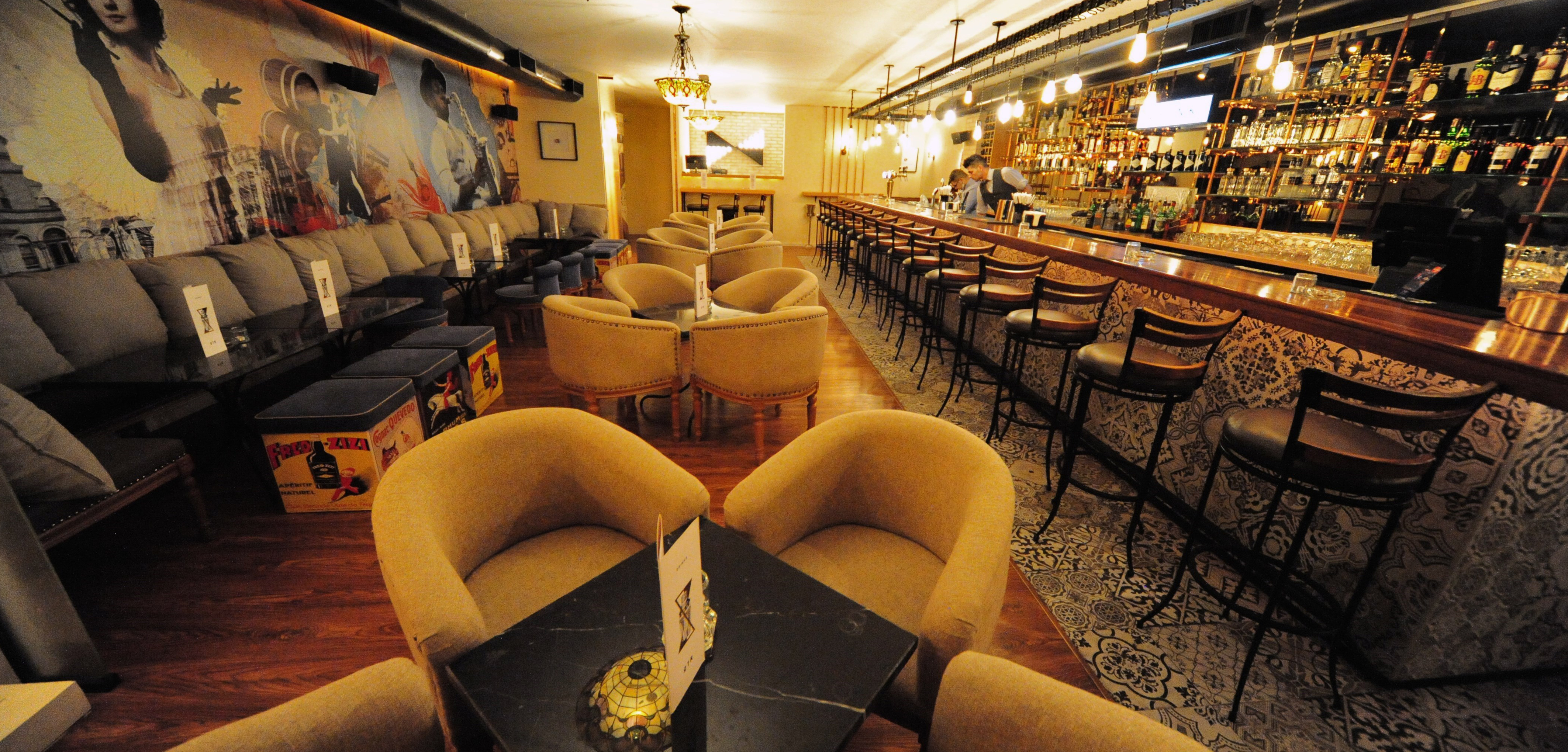 OTR lounge and pub at the conroy boutique hotel amman jordan