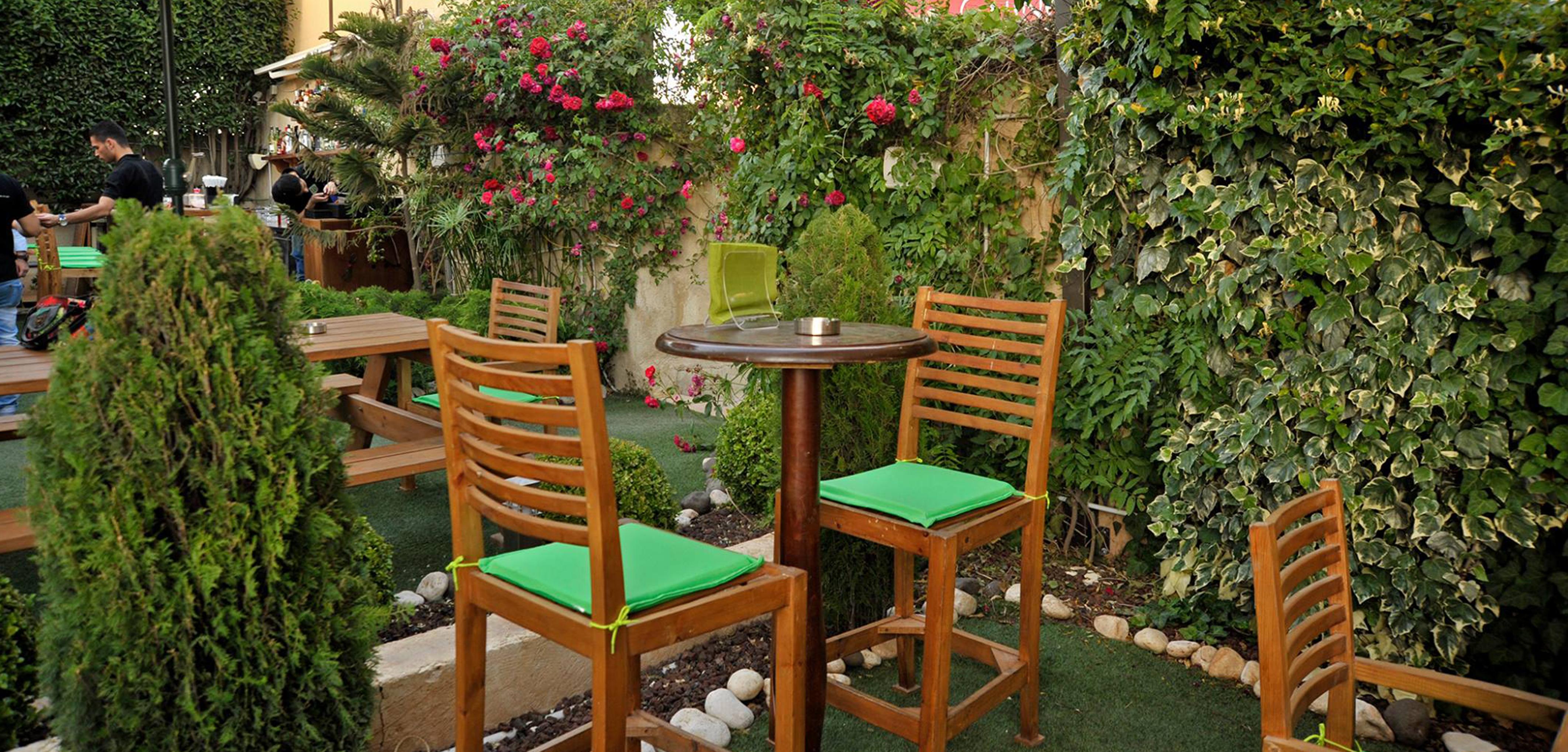 murphy's garden at the conroy boutique hotel amman jordan
